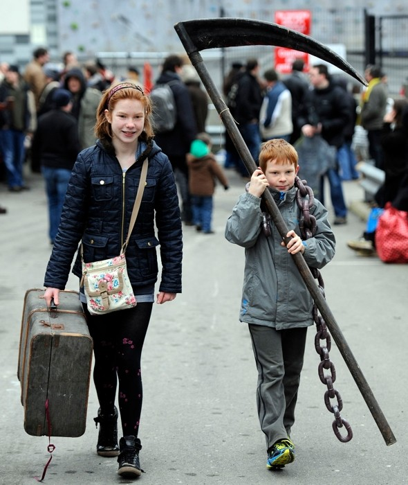 Video: The London Dungeon's frightful car boot sale