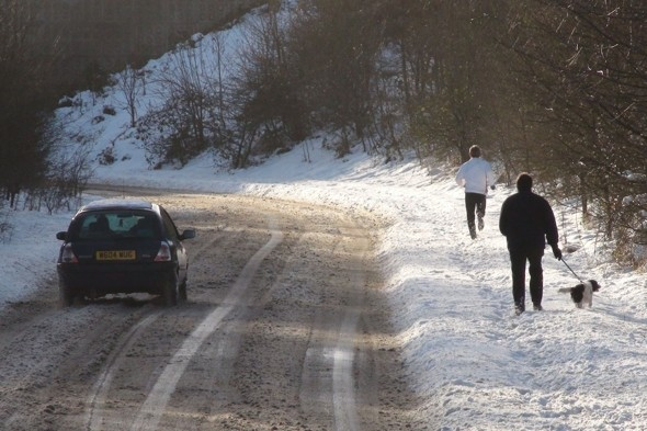 Britain set for a snow-covered weekend