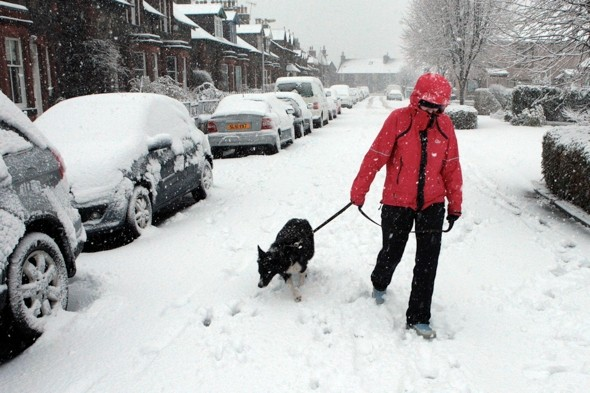 Get your coat! Britain to be hit by five days of freezing temperatures