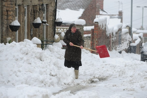 Britain set for 'total whiteout' as snow and gales hit again
