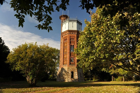 Climb the tower in Sandringham