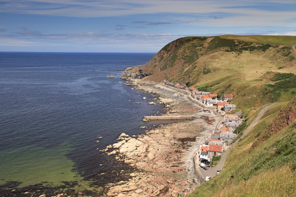 Crovie, Aberdeenshire, Scotland