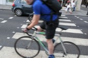 Police stop cyclist for 'not wearing Lycra'