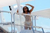 Mel B lives it up on luxury yacht in Cannes
