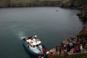 Rescued passenger tells of 'terrifying' experience on sinking Skomer boat