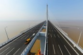 World's longest cable bridge is completed in China