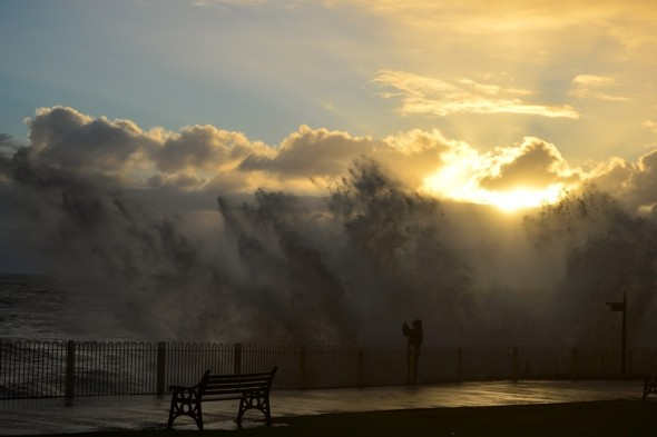 100mph gales and temps of -2C as Arctic blast hits Britain
