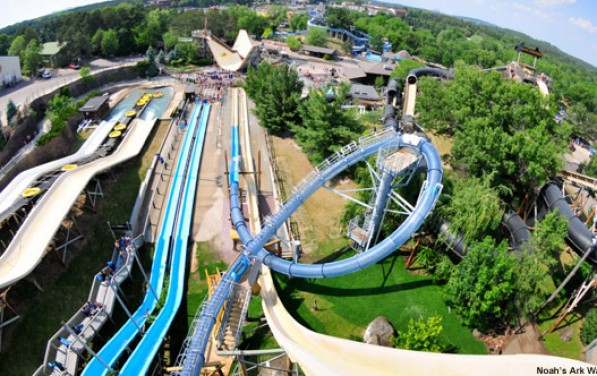 Amazing Water Slides in America