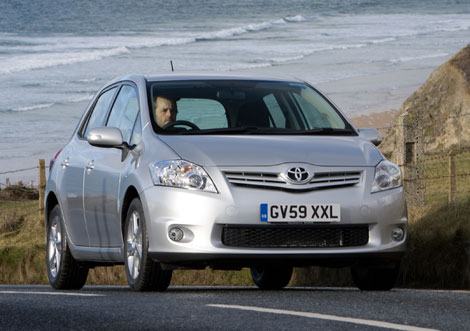 2010 Toyota Auris. The Toyota Auris has always