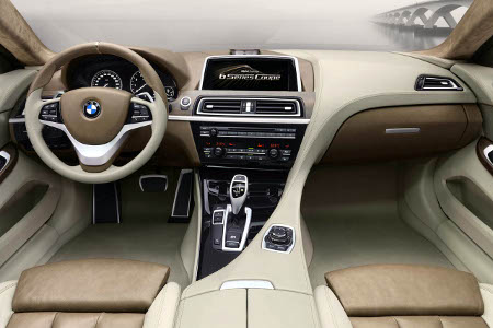 Bmw 6 Series Interior. BMW 6 Series #39;concept#39; set for