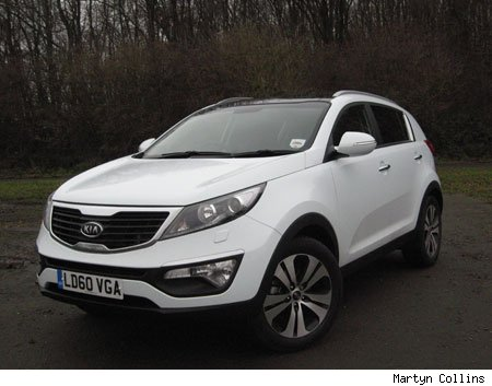The Sportage is not only the coolest looking car that