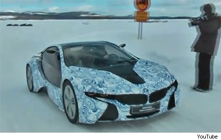Proof that BMW is working hard on the development of the i8, the flagship