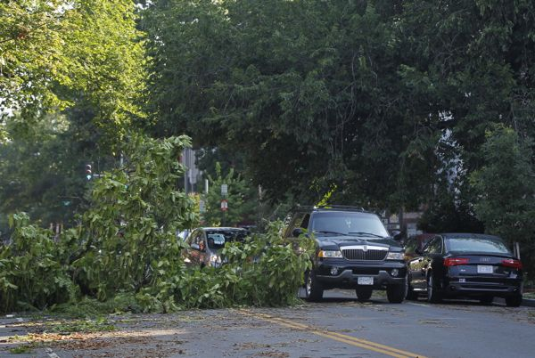 As Heat Continues, Violent Eastern U.S. Storms Kill Nine - SKYE on AOL