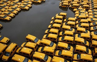 Superstorm Sandy, New York City, Taxis