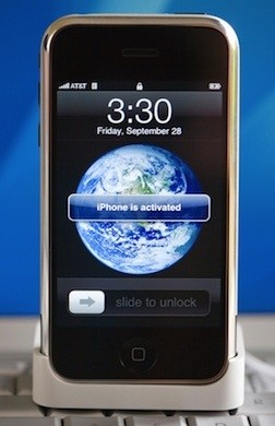 iPhone Blue Marble