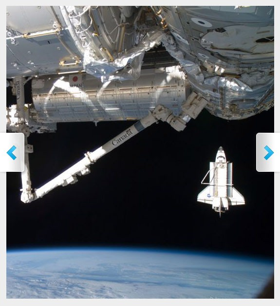 International Space Station, Shuttle