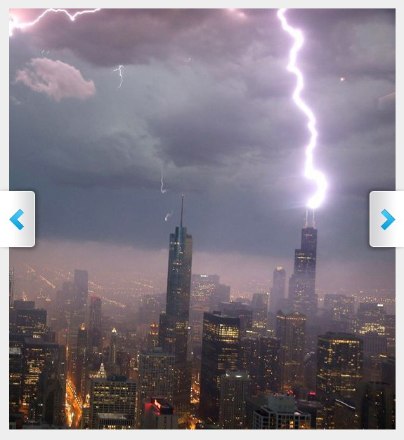 Lightning, Willis Tower, Chicago