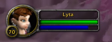 Lyta at level 70