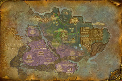outland lvl zones