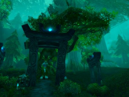 wow how to get to darkshore from moonglade