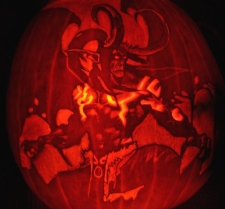 Blizzard's 4th annual Pumpkin Carving Contest