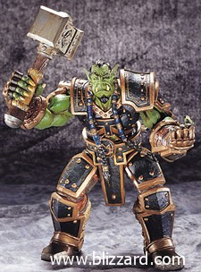Thrall has an action figure. It even comes with a Doomhammer.