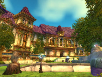Stormwind Park in World of Warcraft