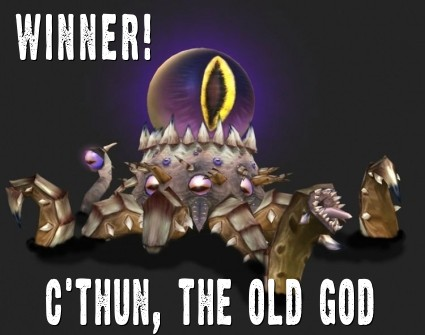 c thun the old god