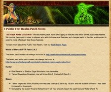 World of Warcraft 54 Patch Notes - Wowhead