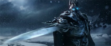 Imagine this is my Death Knight instead of Arthas. Yeah. It's that epic.