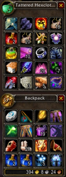 28 slot bags in wow