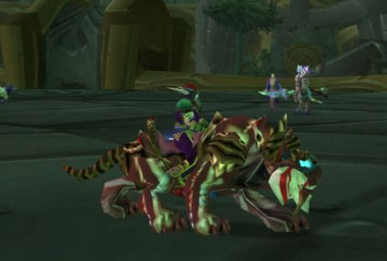 world of warcraft night elf mount. The night elf mounts are