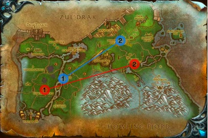 how to get to northrend horde