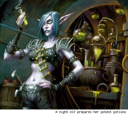 world of warcraft night elf female. of All the World#39;s a Stage