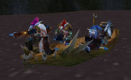 how to get to darkshore from rutheran village