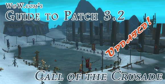 Patch 3.2 is the next major content patch for World of Warcraft: Wrath of t