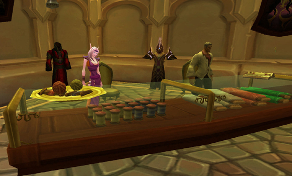 All the World's A Stage: Gift-giving in Azeroth