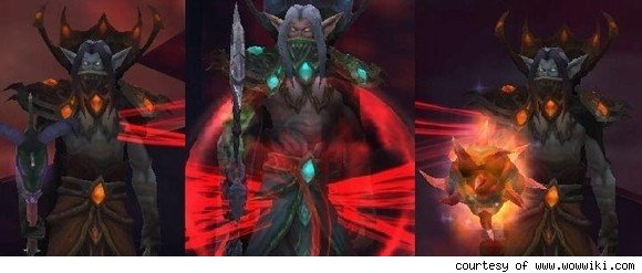 this trio of vampire blood elves oversees some of the
