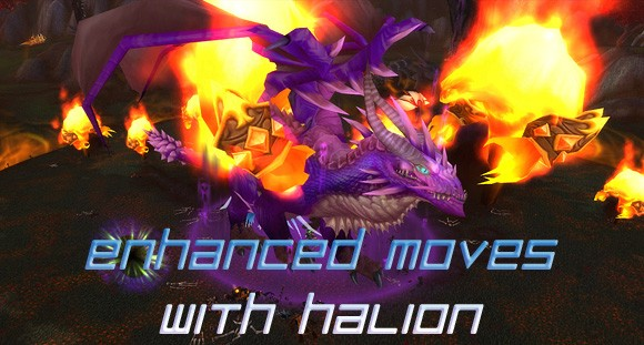 enhanced moves with halion
