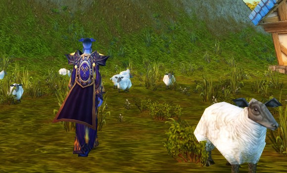 Do draenei dream of space travelling sheep?