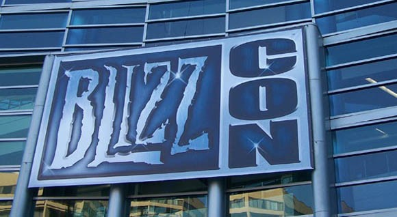 BlizzCon sign.