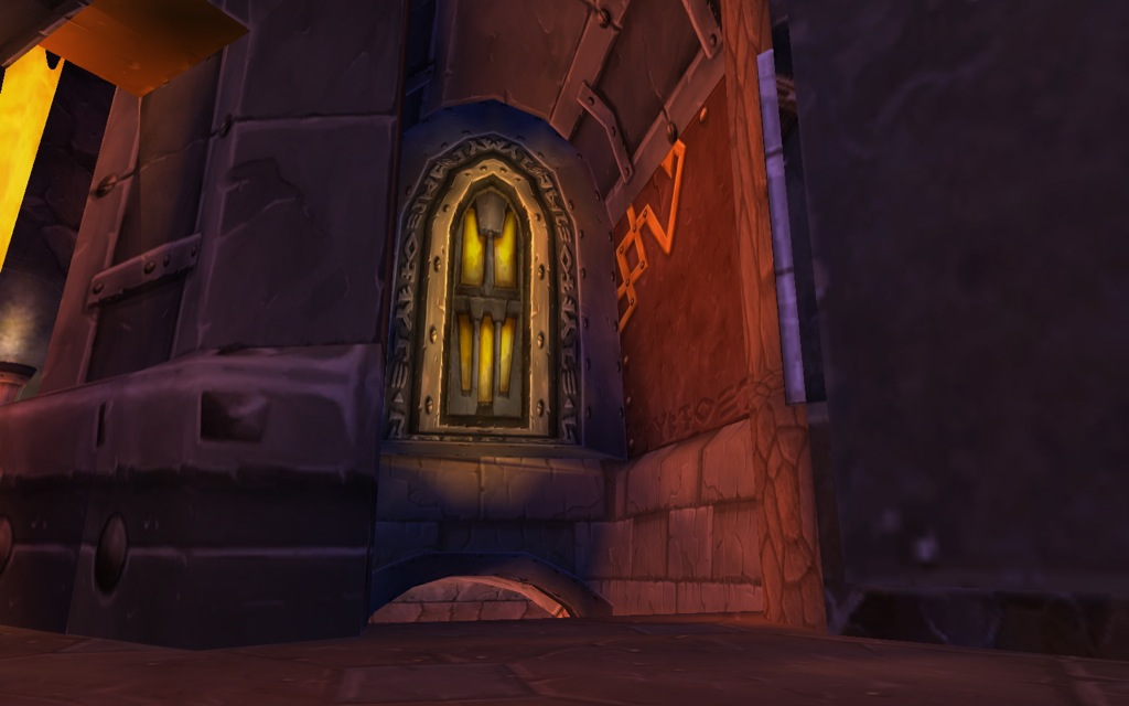 Door way to Old Ironforge