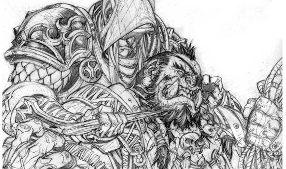 Free Coloring Pages Of World Of Warcraft