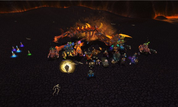 firelands raid how to continue after killing the gatekeeper