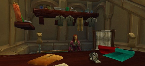 First look at Mists of Pandaria Professions Tailoring