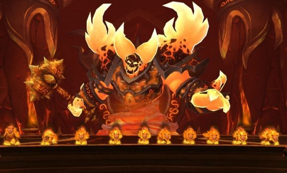 Ragnaros and fire cat druids