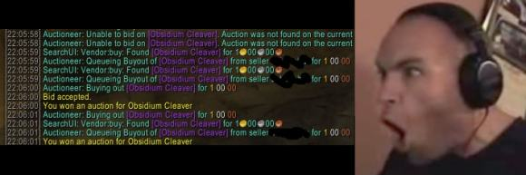 auctioneer text boom headshot guy