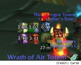 Totem Timers on display