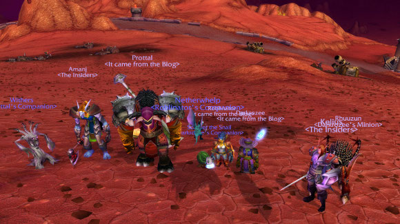 Hellfire Peninsula group picture