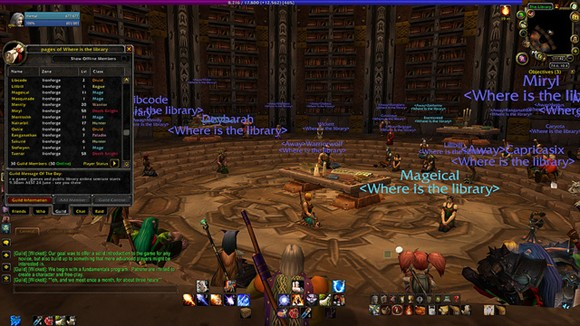Librarians explore World of Warcraft